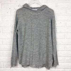 STITCHES & STRIPES Oversized distressed sweater